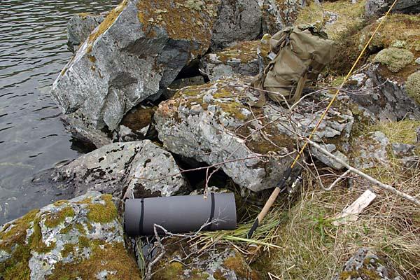 Liggeunderlag funnet i Bjørndalen juni 2010