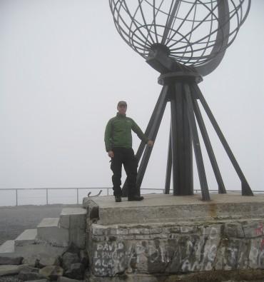 Kald og tåkefyllt start fra Nordkapp 31. mai.
