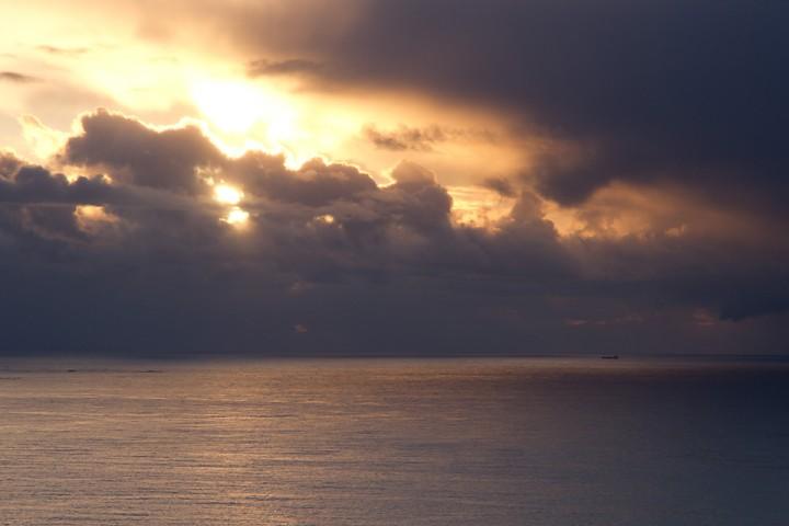Solnedgang fra Gulberget