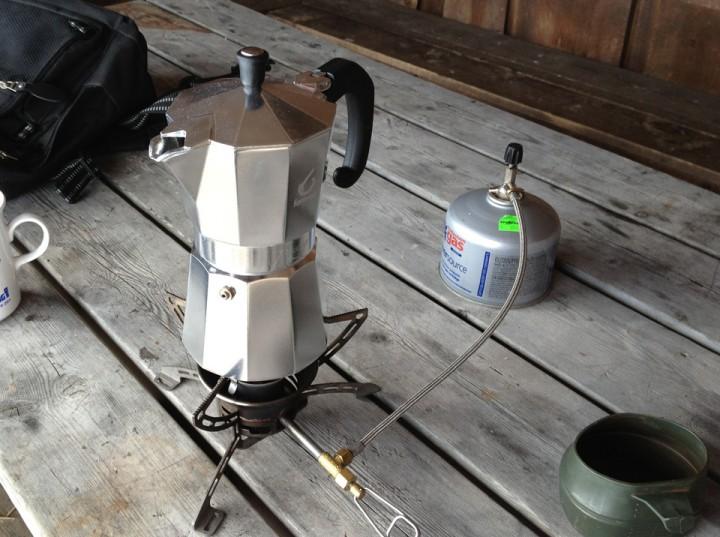 Ingen skikkelig tur uten en god kopp kaffe. Gjerne espresso på korte turer.