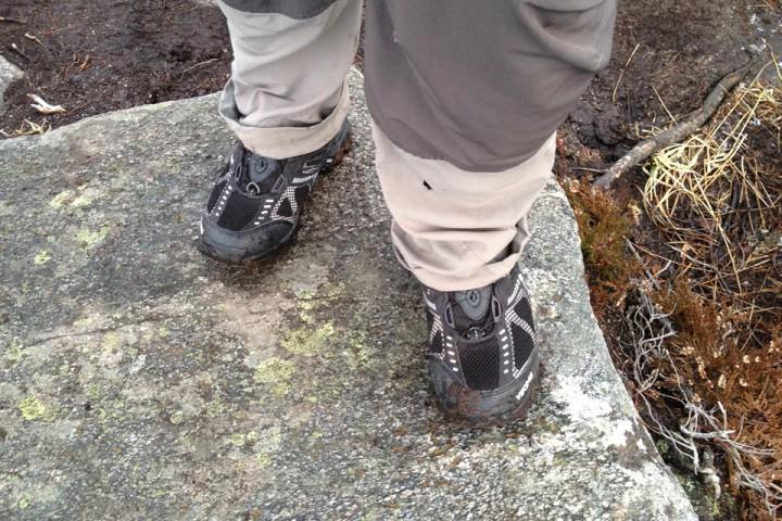 Juhuu. Det er herlig å endelig kunne få sko på beina.