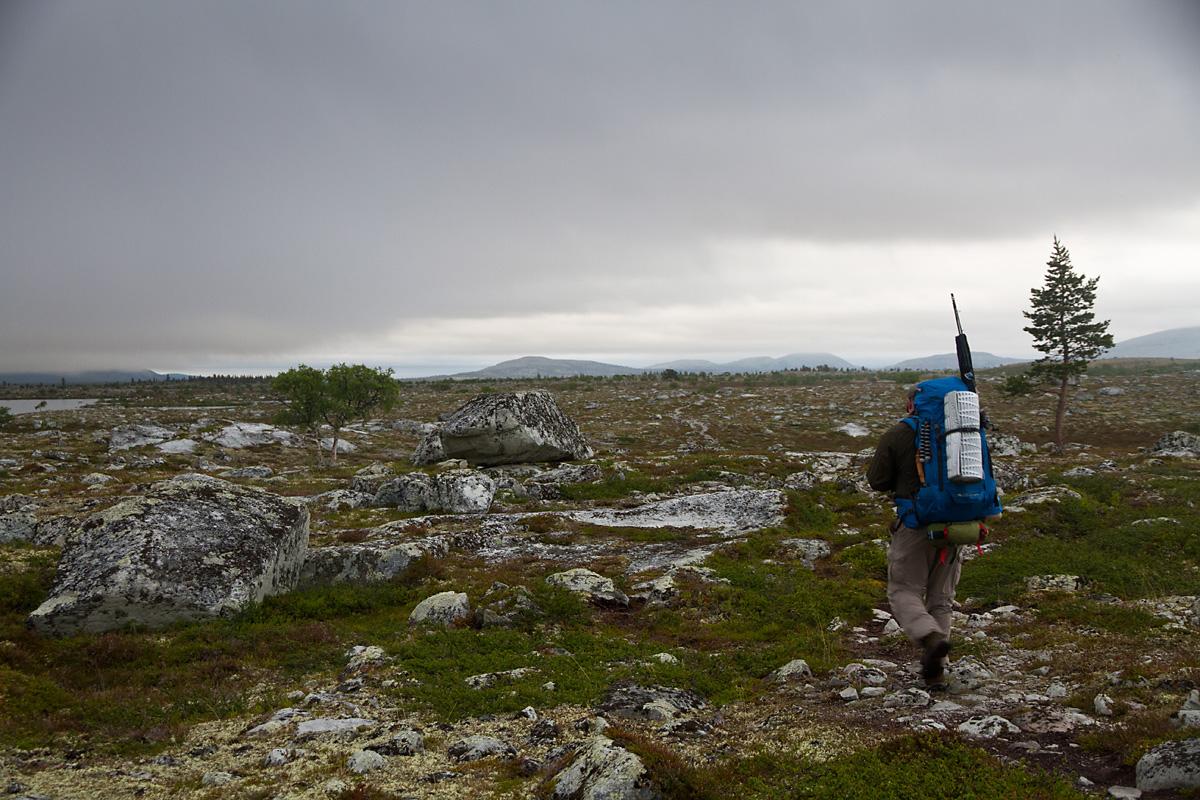 På tur fra Storvika til Skogtjønna
