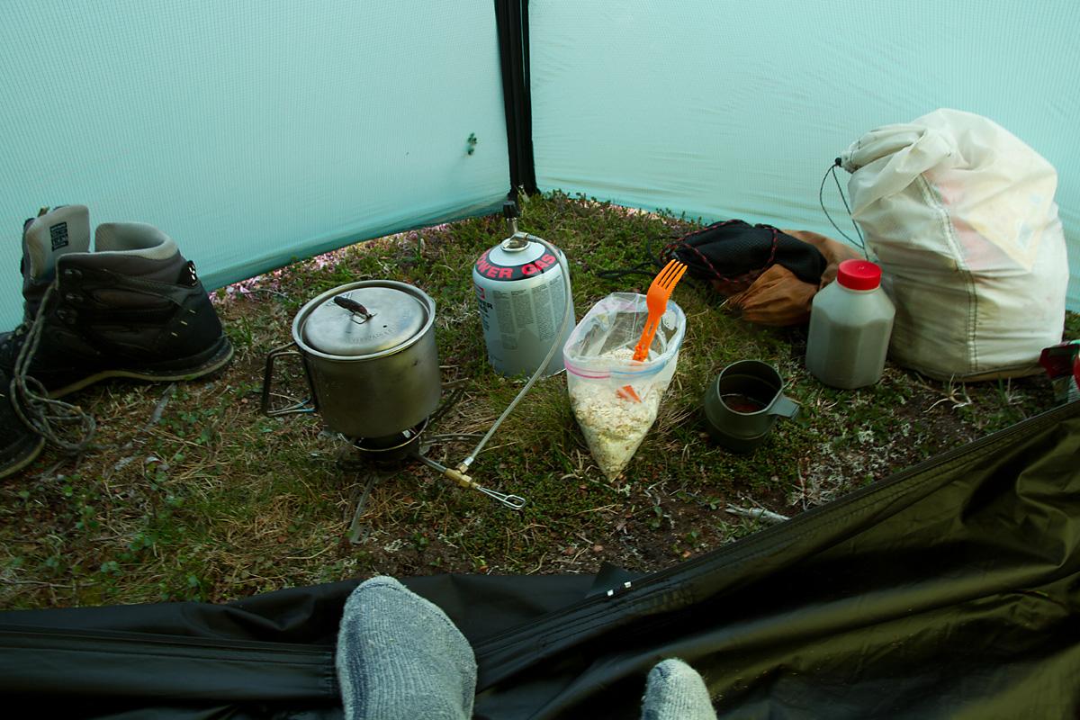 En solid frokost må til før en god dag i Sunndalsfjella.