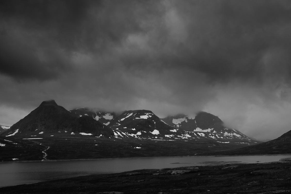 Dovrefjell-Sunndalsfjella kan være kalde en midsommersnatt når forholdene er slik.