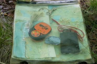 Den obligatoriske markeringen av leirplassen slik at den havner på SPOT kartet og mor ser hvor jeg har dradd på tur.