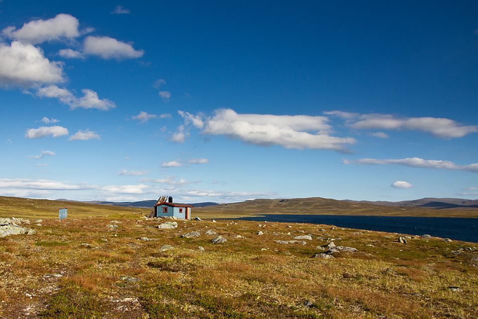 Måskohytta er en av flere åpne Statskogbuer i Indre Troms.