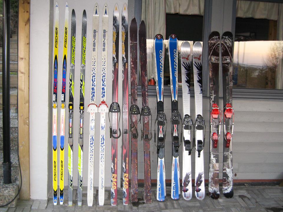 Utvikling på skifronten fra 1994 til 2010.