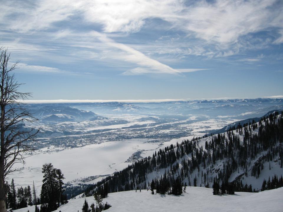 Utsikt mot Jackson Hole