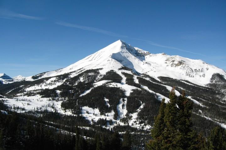 Big Sky Montana er et kjent skisted