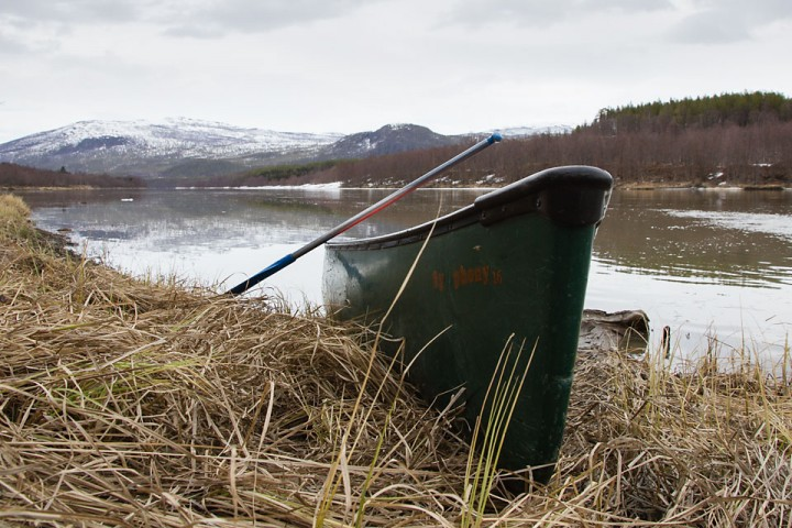 Noen Kanoturer på Målselva ble det også tid til på våren.
