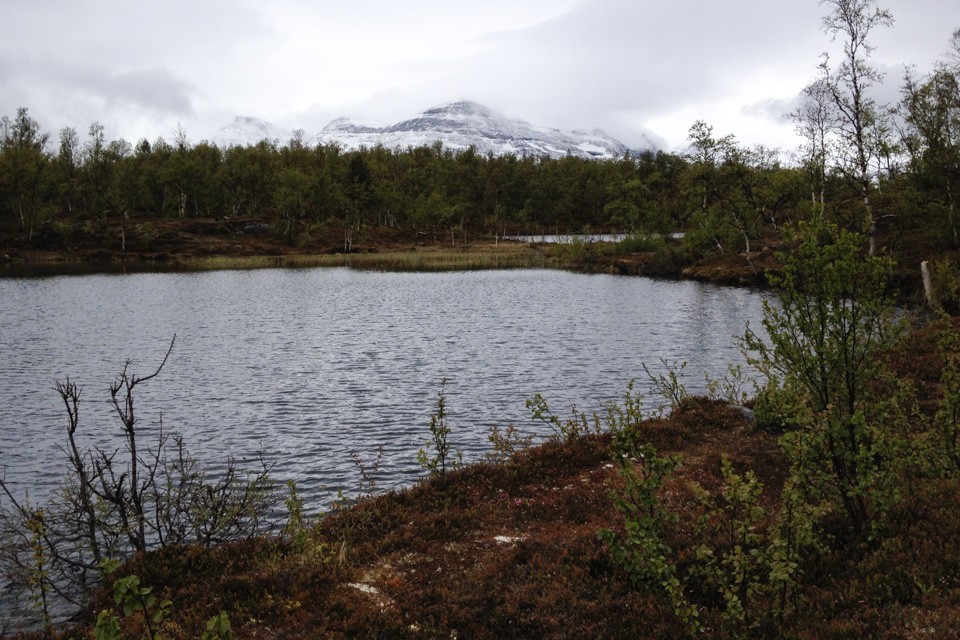 Det ble flere turer til ørretvannene i Dødeskskogen, uten resultat.