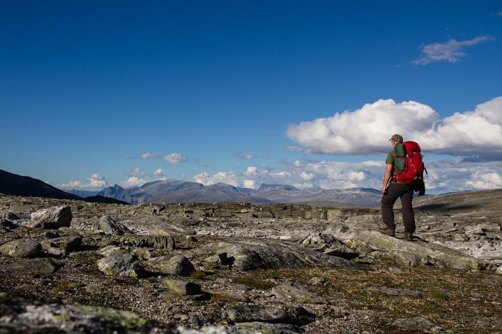 Selfie (?) i Eikesdalsfjella.