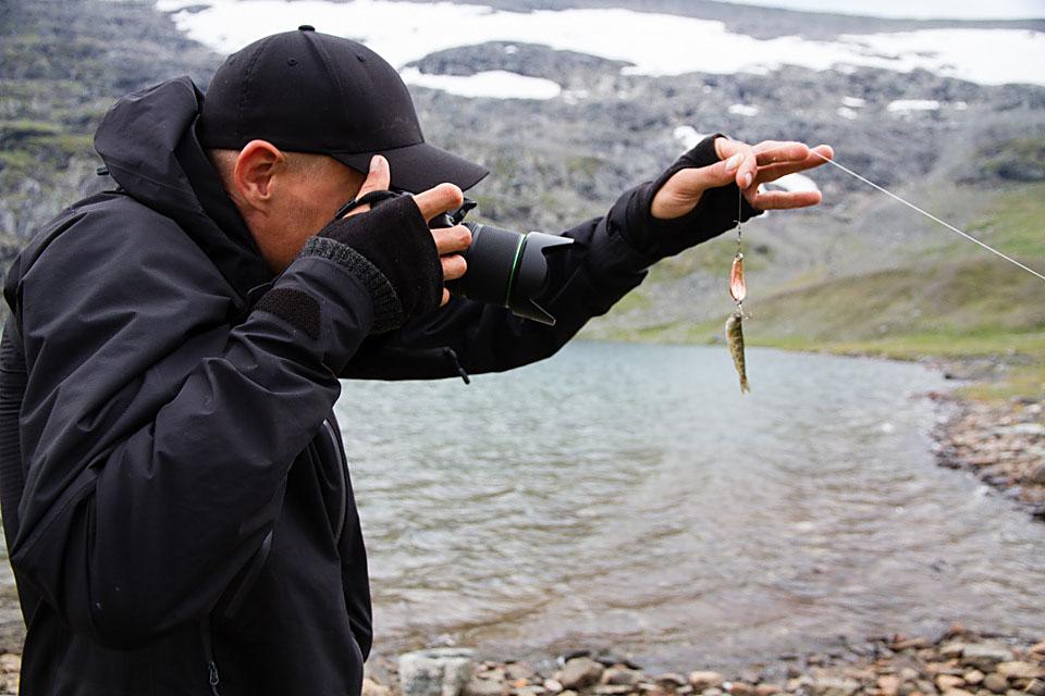 Fiskerekorder må behørig dokumenteres, også når det er snakk om ny minsterekord.
