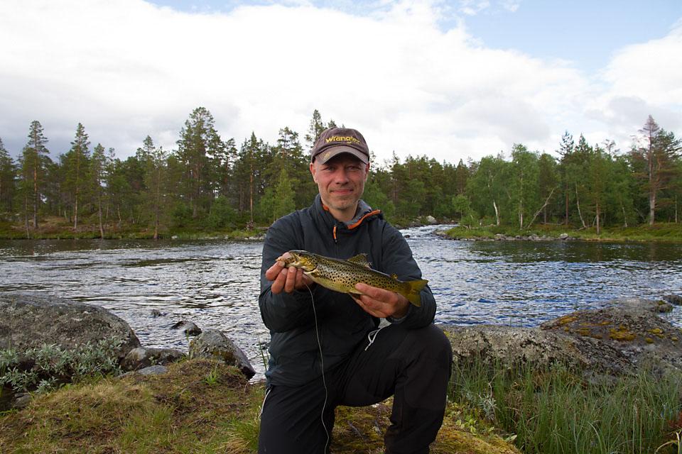 Femundsmarka har i mange år vært et favorittområde for rolige fisketurer. Det har blitt mange ørreter som har falt for en Panter Martin med kobber skje.