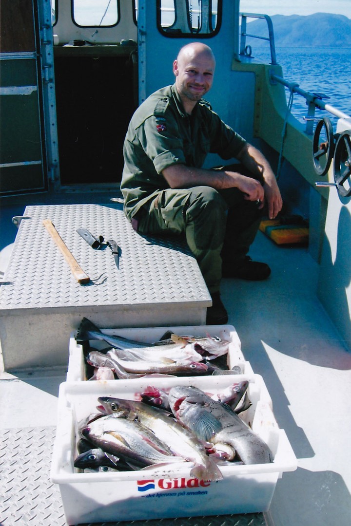 God fangst på linefiske.