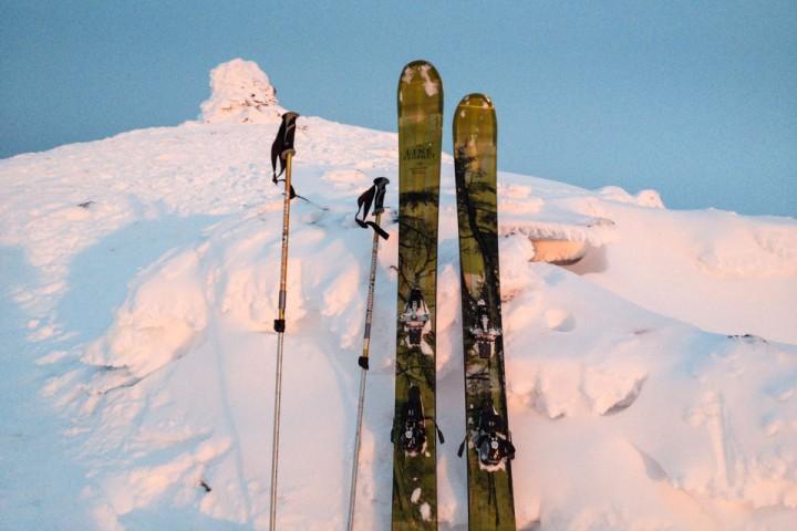 Fra Kvannfjellet (980 moh) 3. juledag