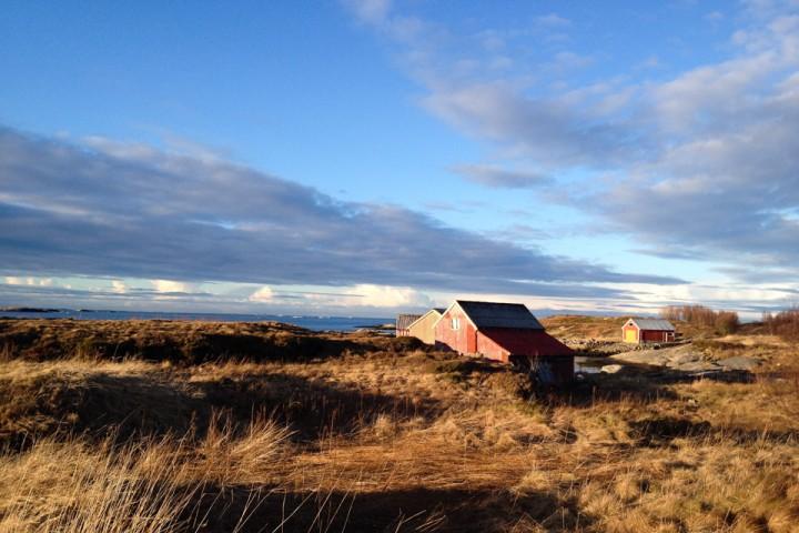 Mens ruskeværet Nina herjet sør, øst, nord og vest for oss, fikk vi en vindstille dag med sol. Bonustur.