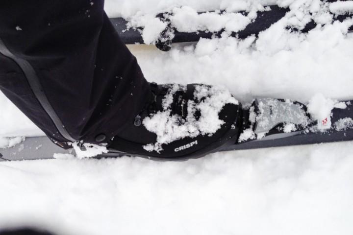 For å finne nye sko som var komfortabel på foten endte jeg med å måtte bytte bindingssystem.
