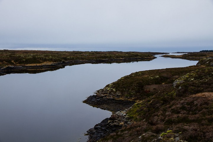 Tanken på sjøørreten som skjulte seg i en av Smølas i en av mange saltvannstrømmer var det som fristet.
