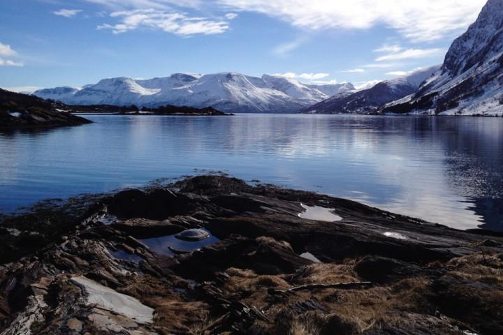 Nord Norge på sitt beste. Fra Lyngspollen mot Skibotn.