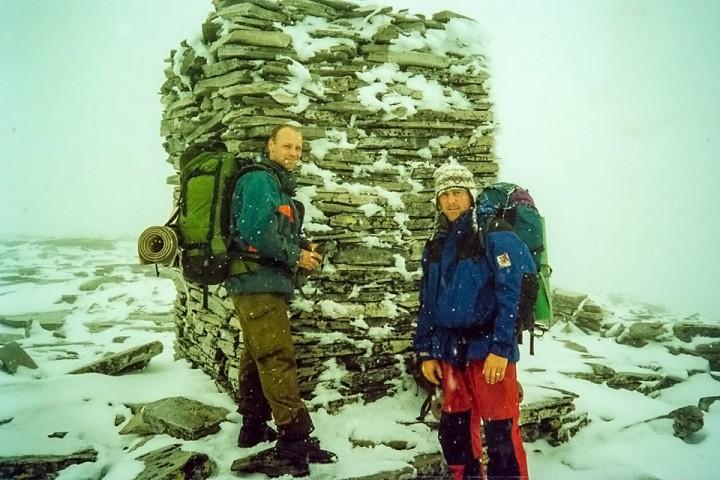 En halv time etter at vi var på toppen av Digerronden gikk det galt. Det kjennes fremdeles.