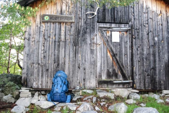 Pause ved Kløfthåbua.