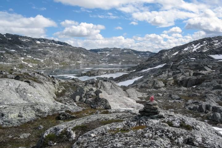 Sommer i Narvikfjellene.