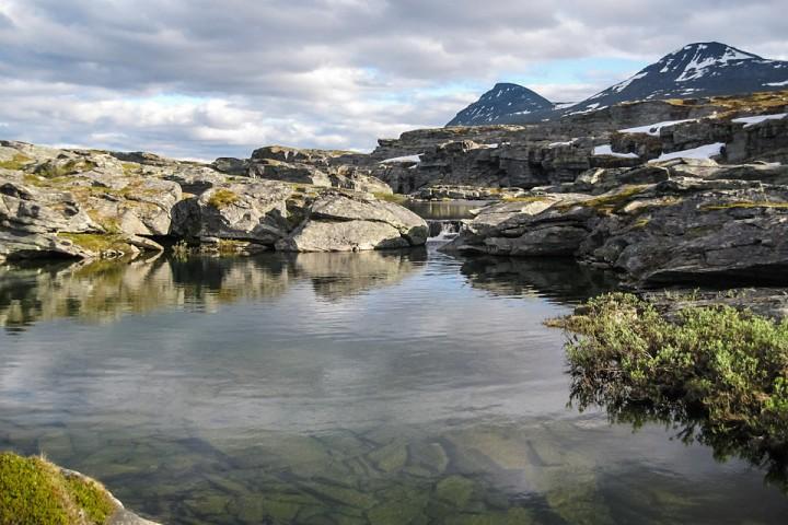 På vei mot Indre-Troms.