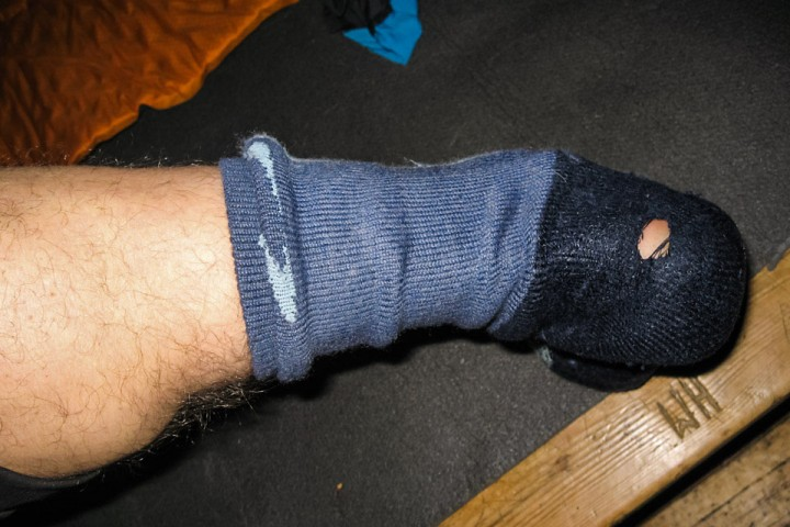 Det går med noen par sokker på langtur.