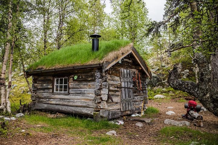 Møllerbua er en av Statskog sine mange åpne koier og buer i Femundsmarka.