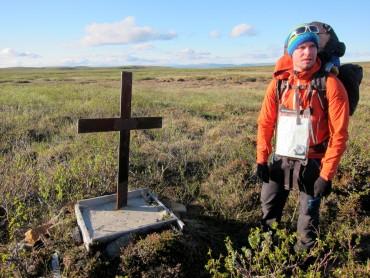 En samisk gutt døde her under en snøstorm i 1959.