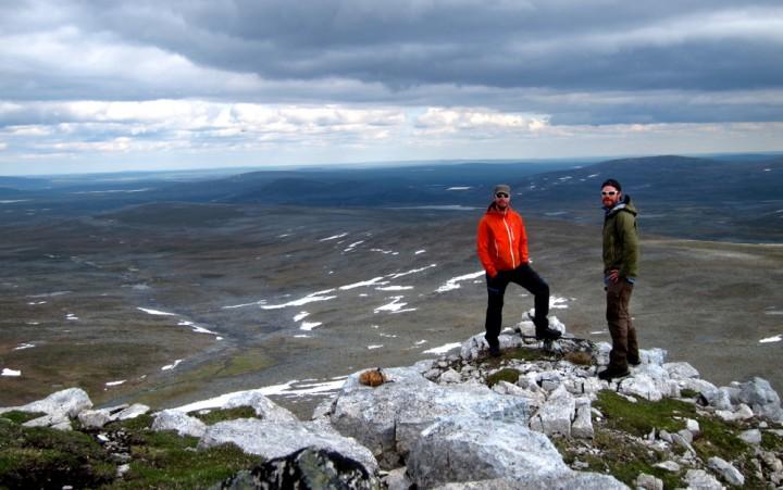 En liten topptur i Finland. Upåklagelig utsikt!