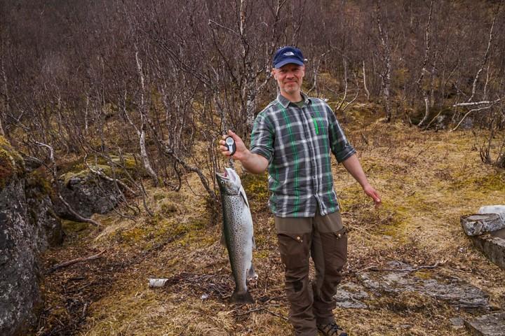 Fornøyd fisker :)