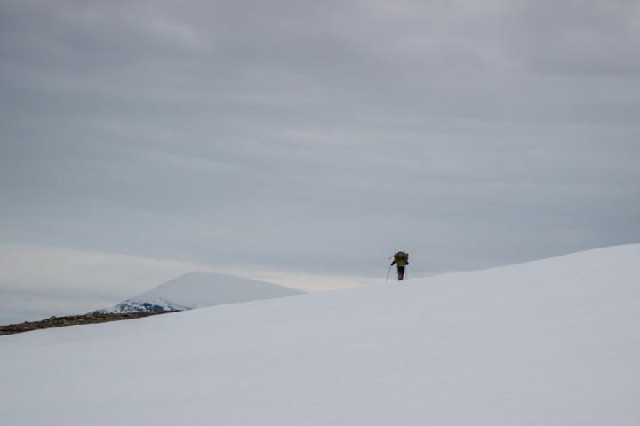 Det er fortsatt skiføre i høyden.