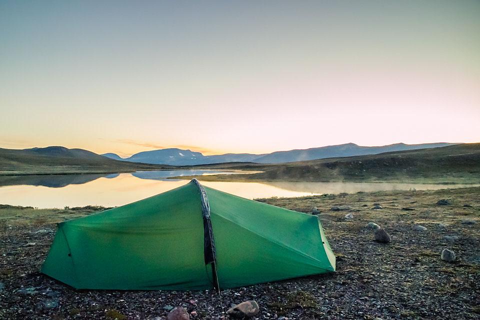 Høstens første frostnatt 21.aug i Indre-Troms.