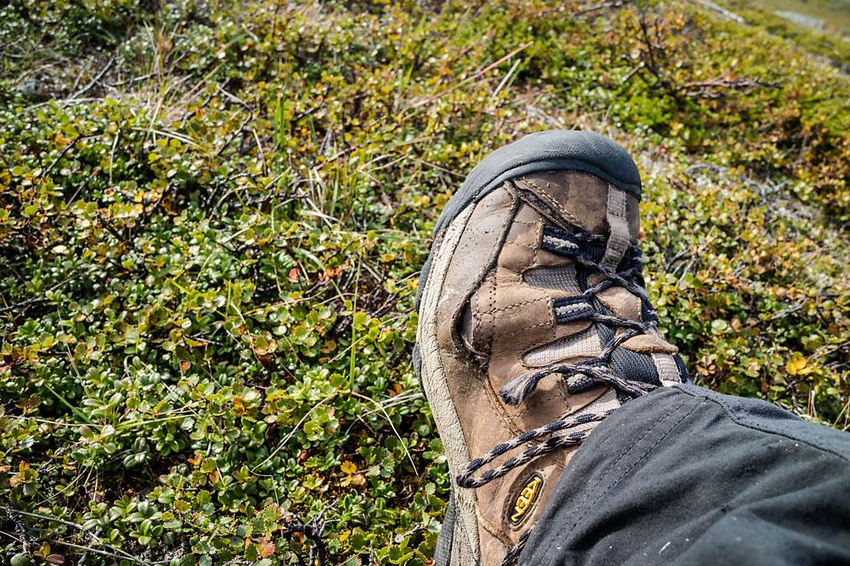 Skoene har fått ekstra lufting etter et langt turår.
