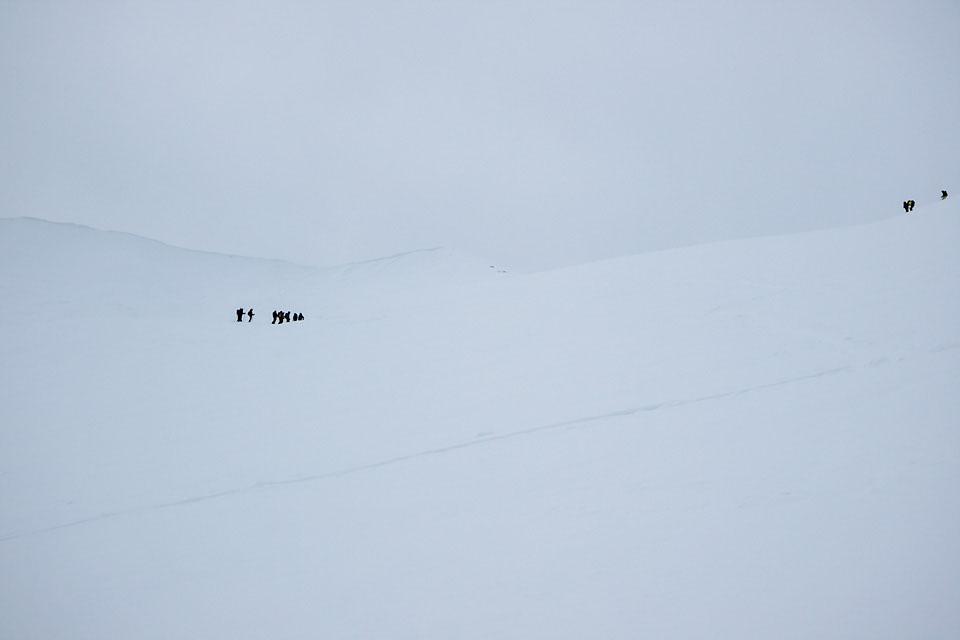En gjeng fra Molde folkehøgskole var også på tur til Trolltind.