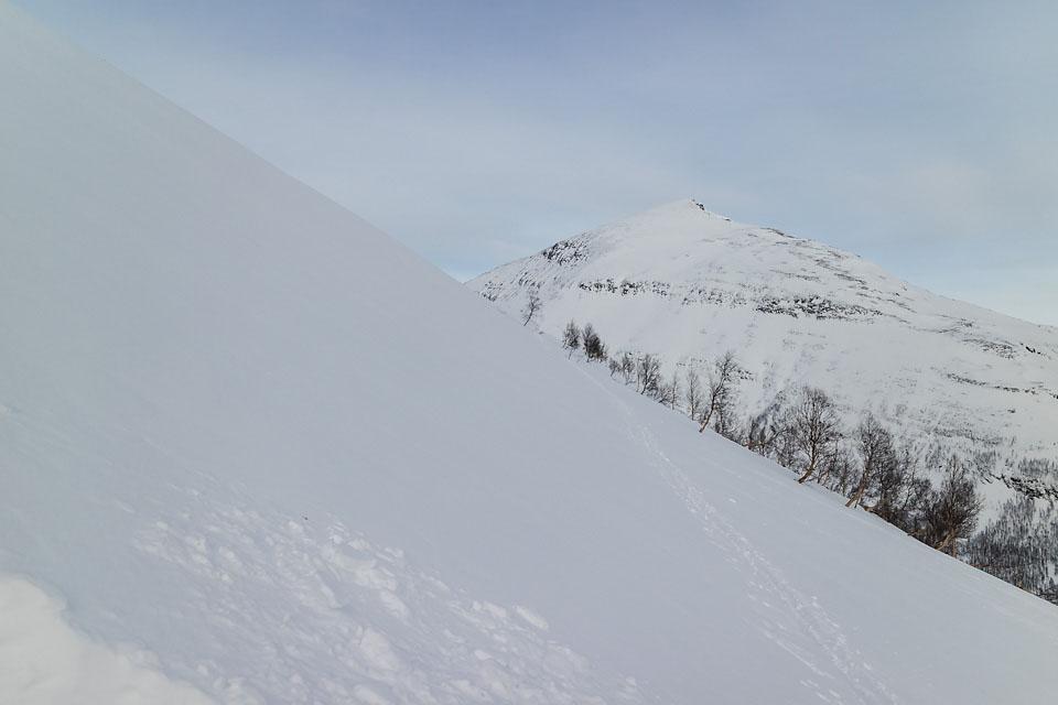 Tid for å sjekke snøforholdene, selv om sporet fortsetter.
