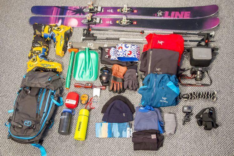 Pakkeliste til topptur på ski