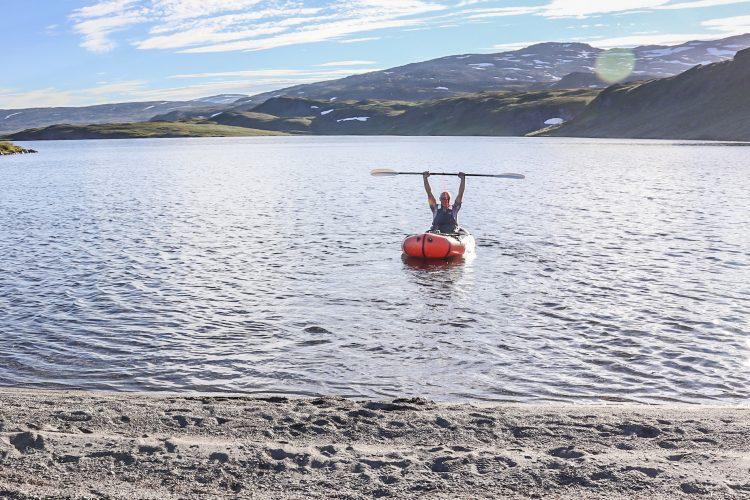 Med packraft i Sulitjelmafjellene – kort bilderapport